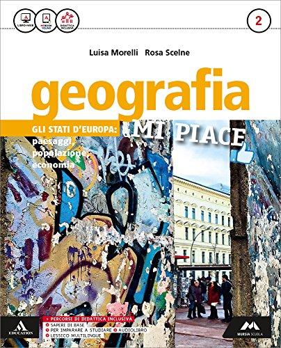 Geografia mi piace. Atlante. Per la Scuola media. Con e-book. Con espansione online: 2