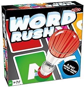 Tactic Word Rush Niños y Adultos Juego de Pensamiento Lateral - Juego de Tablero (Juego de Pensamiento Lateral, Niños y Adultos, 30 min, Niño/niña, 8 año(s), 150 Pieza(s))