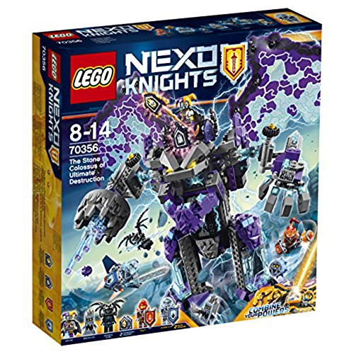LEGO Nexo Knights - Coloso Piedra Destrucción Total