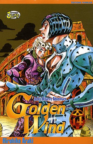 Jojo's bizarre adventure - Golden Wind Vol.14 par ARAKI Hirohiko