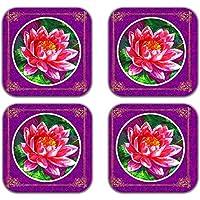 MeSleep Viola Di Legno Decorativo Rose Arte Tè Coppe Bere