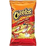 Cheetos Flamin Hot Crunchy Snacks - Cheese Flavoured, 226.8g