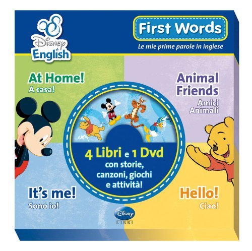 First words. Le mie prime parole in inglese. Ediz. bilingue. Con DVD di Aa.Vv.
