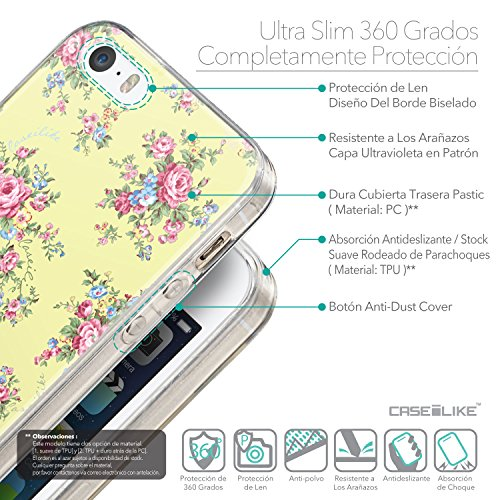CASEiLIKE Zitat 2402 Ultra Slim Back Hart Plastik Stoßstange Hülle Cover for Apple iPhone SE +Folie Displayschutzfolie +Eingabestift Touchstift (Zufällige Farbe) 2264