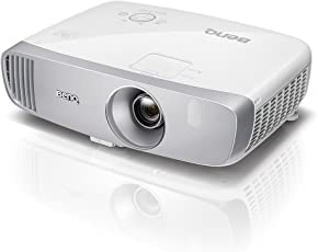 Proiettore BenQ W1120 1080p DLP Home Cinema, Rec.709, Proiezione a Breve Distanza, 2200 Lumen, 3D, Dongle Wireless HDMI, Specchio, Modalità Gaming, Vertical Lens Shift, Serie CineHome