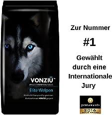 VONZIU Elite Premium Hundefutter/Welpenfutter – Hochenergetische Tiernahrung – Für kleine & große Hunderassen - Hypoallergen - Reich an Fischöl/Vitaminen/Mineralien – 100% Natürliche Zutaten