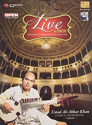 Live In Concert - Ustad Ali Akbar Khan (Exclusive Archival Collection / Hindustani Classical Instrumental / Sarod / 2-CD Set)