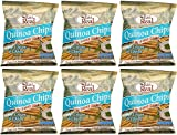 (6 PACK) - Eat Real - Quinoa Sour Cream Chive Chips | 30g | 6 PACK BUNDLE