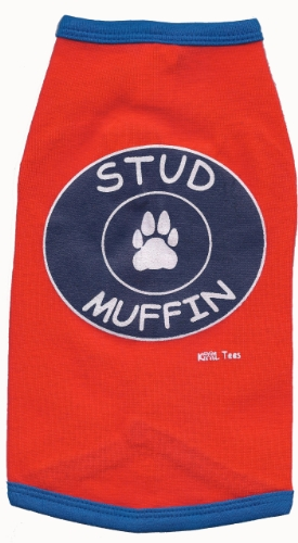 Kool Tees Hunde-T-Shirt mit Muffin-Motiv, Größe M