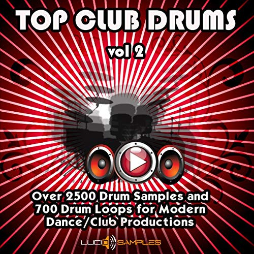 Top Club Drums Vol.2 - Over 2500 Fresh Drum Samples and 700 Drum Loops [WAV Files (24Bit)] [DVD non Box]