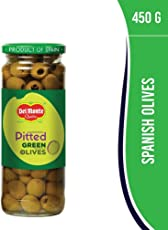 Del Monte Green Pitted Olives, 450g