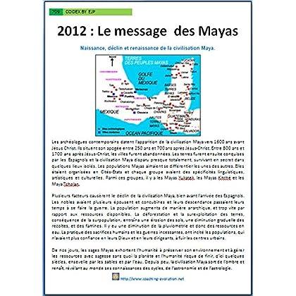 Codex8Pages-2012 et le message des Maya.