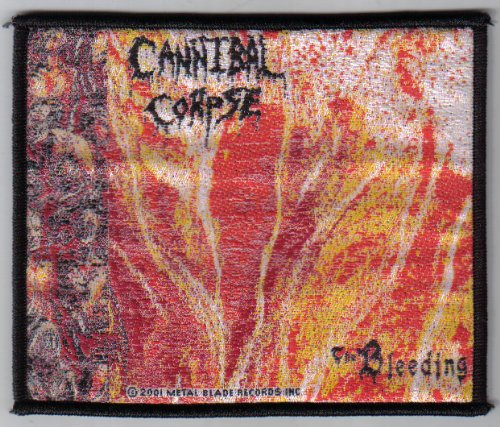 Gewebter Aufnäher / Patch / Cannibal Corpse - The Bleeding (Cannibal Corpse-patches)