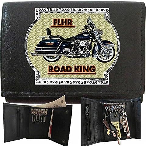 HARLEY DAVIDSON FLHR Klassek Portachiavi, raccoglitore chiave motocicletta accessorio Moto