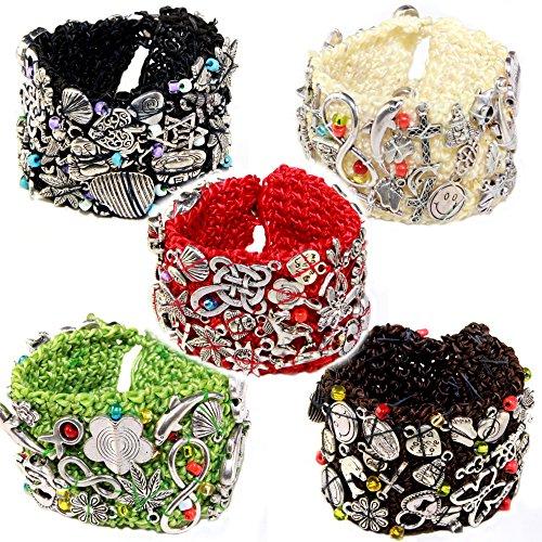 pulsera-brazalete-trenzado-con-metal-figuras-y-bolas-bali-cada-pieza-es-unica-grm-jm1-talla-unica