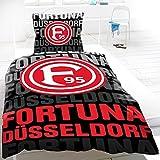 Fortuna Düsseldorf Bettwäsche Schattenspieler 135x200+80x80