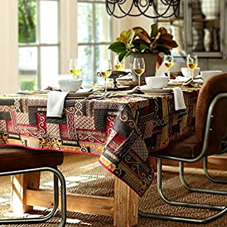 Abstract Tablecloth Rectangle 80x55