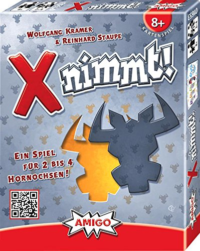 Preisvergleich Produktbild AMIGO 01653 X Nimmt, Spiel