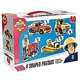 Jumbo Spiele Puzzle | 4 Rompecabezas | Sam el Bombero | Fireman Sam | 8, 10, 12 y 14 Piezas