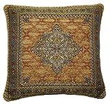 Persian Gold 18inch zipped cushion cover