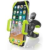 ZeaLife Telefonhållare för cykel 360° roterbar justerbar cykel telefonmontering halkfri anti-skakcykel styre telefonhållare m