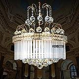 SDKKY Kleine Swarovski - Kristall - kronleuchter s Gold Europäische luxus - Restaurant den pflaume.