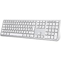 OMOTON Bluetooth Tastatur für MacOS(MacBook/MacBook Air/MacBook Pro/iMac/iMac Pro/Mac Pro/Mac Mini), wiederaufladbare…