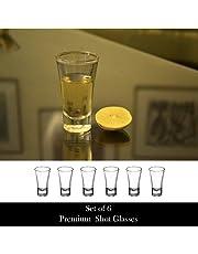 Yera Shot Glass Set, 60ml, Set of 6, Clear