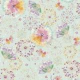Zweigart Baumwoll-Stoff Konfetti Blumen 115 cm Breit