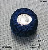 10 gr. Perlgarn, Stärke 8, Farbe: 149, Fabrikat: Anchor, Hardanger