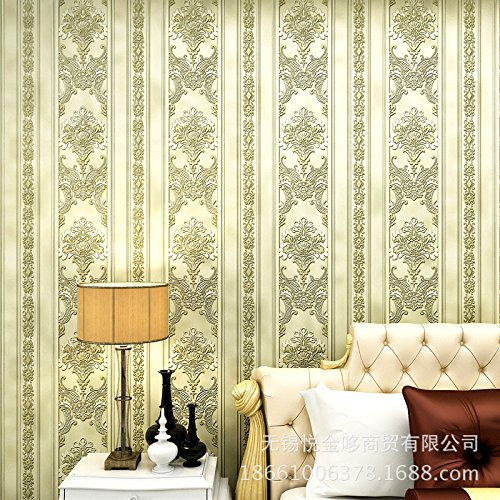MDDW-Europäische Vliestapete Anaglyph 3D Beflockung sub Schattierungen von gesprenkelt gold retro Schlafzimmer Wohnzimmer Wand zu Wand Tapete , ss1002 silver