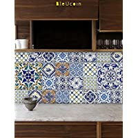 Portugiesische Fliesen Aufkleber Für Küche Badezimmer Backsplash, Schrank,  Treppensteiger Abnehmbare Abziehbild Pack