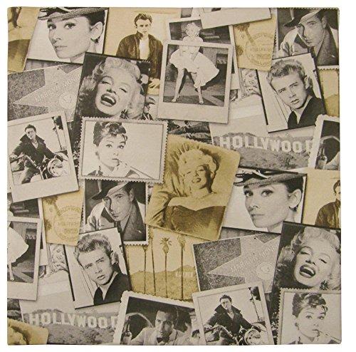 Qualität Baumwolle Stoff (Hollywood Superstars Audrey Marilyn James Baumwolle Qualität Material Verkauft Stoff Meterware)