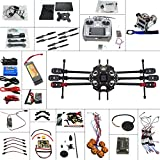 XT-XINTE Full Set 6-axis Aircraft Kit Helicopter Tarot 680PRO Frame APM 2.8 Flight Control AT10 Transmitter with FPV function