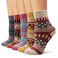 wool socks, moliker women socks winter socks vintage soft warm for winter