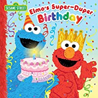 Elmo's Super-Duper Birthday (Sesame Street) (Pictureback(R)) - Game Party Pin