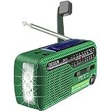 Degen DE13 FM AM SW zwengel-dynamo op zonne-energie voor uitzonderlijke toestand A0798A
