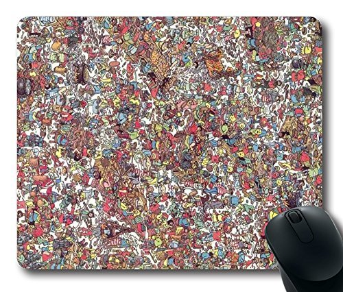 echnology Custom Rectangle Mouse Pad Oblong Gaming Mousepad in 220mm*180mm*3mm (9