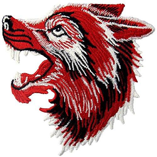 tickt, Design: Brüllender Wolf, Zum Aufbügeln Oder Aufnähen ()
