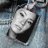 Lucy Liu - Original Art Keyring #js001