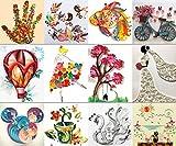 MS Origami Papier Quilling-Werkzeug-Set Zeichnungen DIY Handgefertigte TO383