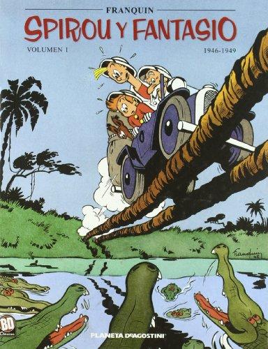 Spirou y Fantasio 1946-1949 nº 01/07 (Cómics BD 2 NO) por Franquin