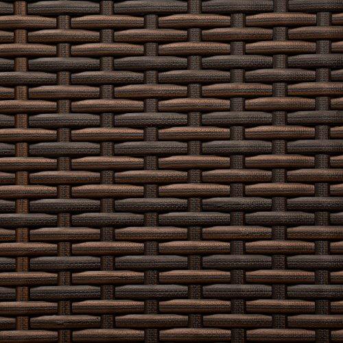 TecTake Aluminium Poly Rattan Gartenmöbel