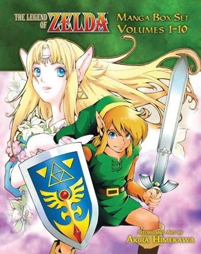 By Akira Himekawa - The Legend of Zelda Box Set 1-10