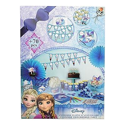 Disney Frozen DARP-CFRO094 Juguete Personalizado para Fiesta de cumpleaños de FROZEN