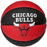 Spalding Ball NBA Team Chicago Bulls, Rot/Schwarz, 7, 3001587011317