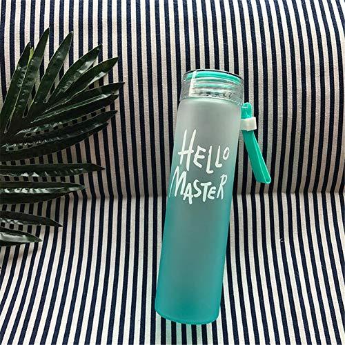 asserflasche, Farbverlauf Hochtemperatur-Frosted Bunte Becher ()