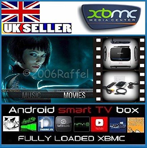 DroidBOX X7 with DroidBOX VIP mini keyboard -  Movies & TV Kodi 15.1 Isengard AirPlay UPnP DLNA IPTV Mini Web Streaming HTPC Player, QuadCore Rockchip RK3188T 1Gb Ram, 8GB Internal Memory, WiFi, 100mbps LAN, 1080P 3D, Mali400 High Performance 3D GPU