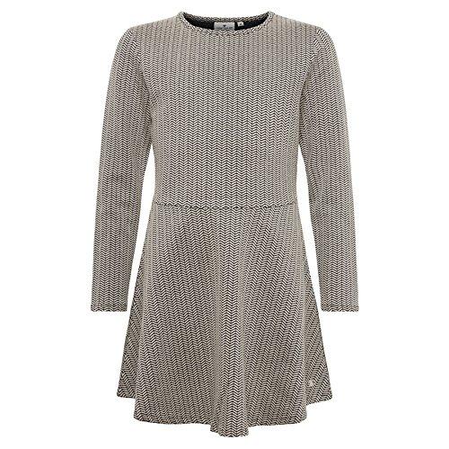 TOM TAILOR für Mädchen Kleider & Jumpsuits gemustertes Kleid Derby beige, 164