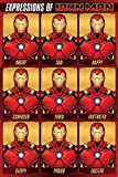 Close Up Iron Man Poster Expressions of Iron Man (61cm x 91,5cm)